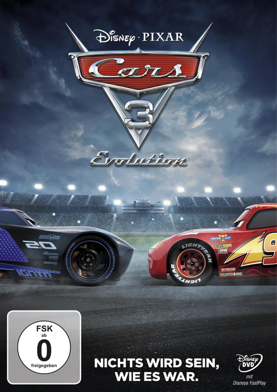 DVD - Cars 3 - Evolution