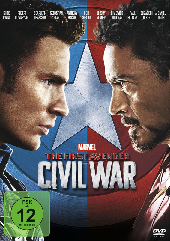 DVD - The First Avenger - Civil War