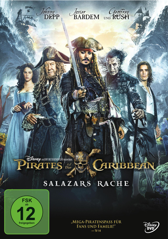 DVD - Pirates of the Caribbean - Salazars Rache
