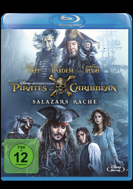 Blu-ray - Pirates of the Caribbean - Salazars Rache