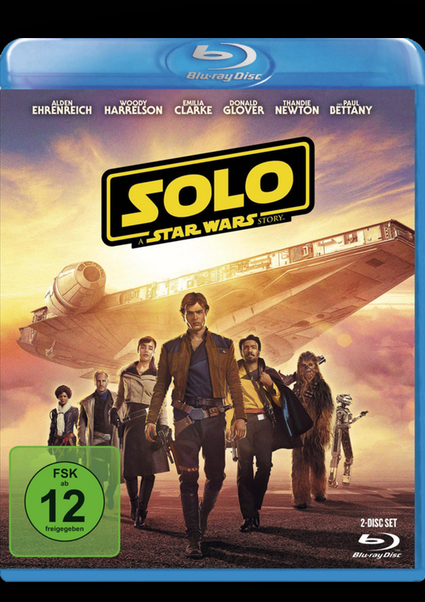Blu-ray - Solo - A Star Wars Story